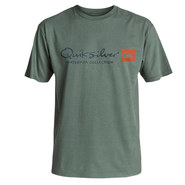 T-SHIRT QUIKSILVER WATERMAN ORIGINEL GRIS