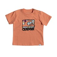 T-SHIRT QUIKSILVER WEMI BEBE ORANGE