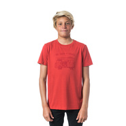 T-SHIRT RIP CURL MULTI TRUCK SS ROUGE