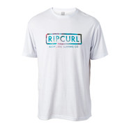 T-SHIRT RIP CURL AUTHENTIC SURFING BLANC