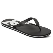 TONGS DC SHOES SPRAY NOIR/BLANC