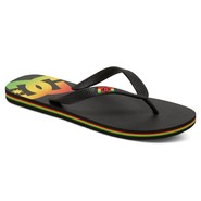 TONGS DC SHOES SPRAY RASTA