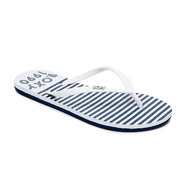 TONGS ROXY VIVA STAMP II BLANC