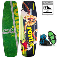 PACK WAKEBOARD RONIX BANDWAGON ATR XL + INDEX