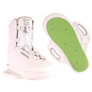 CHAUSSES WAKEBOARD LIQUID FORCE HITCH WHITE 2019