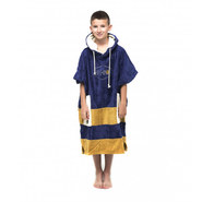 PONCHO ALL-IN JUNIOR DRAGON NAVY/BEIGE/ECRU
