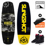PACK WAKEBOARD SLINGSHOT WINDSOR + SHREDTOWN 2017