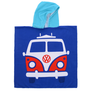 PONCHO JUNIOR COMBI VW BLEU