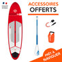 SUP BIC ACE TEC PERFORMER 10.6 2017 RED