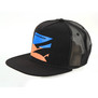 CASQUETTE NAISH TRUCKER MESH BLACK/BLUE/ORANGE