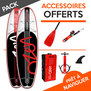PACK SUP GONFLABLE LOZEN 9.9 + 10.8 2017