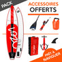 PACK SUP GONFLABLE LOZEN 11.6 TOURING 2017