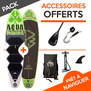 PACK SUP GONFLABLE AQUA MARINA THRIVE + BREEZE 10.0 2017