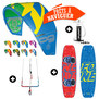 PACK KITESURF F-ONE BANDIT 2016 + NEXT 2017
