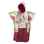 PONCHO ALL-IN JUNIOR DRAGON EXOTIC PRINT/VIOLA