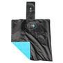 HOUSSE DE COFFRE ALL IN BACK COVER NOIR/TURQUOISE