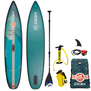 SUP GONFLABLE SROKA ALPHA RIDE FUSION VERT 12.6 X 31 2019
