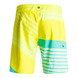 BOARDSHORT QUIKSILVER INCLINE LOGO 19 JAUNE XL