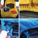 HOUSSE VOITURE ALL IN SEAT COVER BLEU/JAUNE