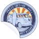 SERVIETTE RONDE COMBI VW WAGON