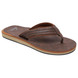 TONGS QUIKSILVER CARVER NUBUCK MARRON 41