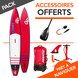 SUP GONFLABLE FANATIC FALCON AIR 12.6 2017