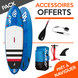 SUP GONFLABLE FANATIC FLY AIR STRINGER 9.0 2018 09.0