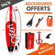 PACK SUP GONFLABLE LOZEN 11.6 TOURING 2017 11.6