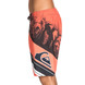 BOARDSHORT QUIKSILVER SPACE INTERSECT 20 ROUGE L
