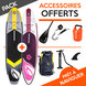 PACK SUP GONFLABLE AQUADESIGN ROLLING + LEESY 2017