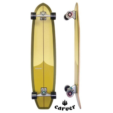 LONGBOARD SKATE CARVER C7 HOT DOGGER 42