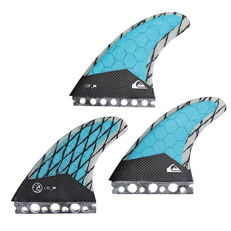 DERIVES QUIKSILVER FINS AG47 FUTURES LOT DE 3 HAWAIAAN SMALL
