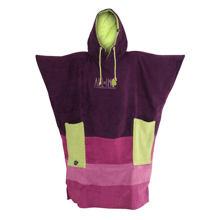 PONCHO ALL-IN V ORGANIC VIOLA/ANIS TU