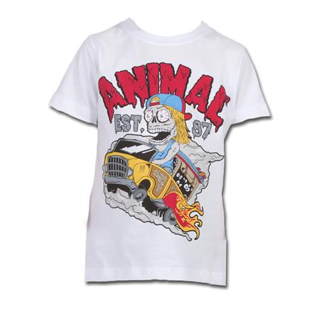 T-SHIRT ANIMAL ENFANT HAVOK BLANC 03-04 ANS