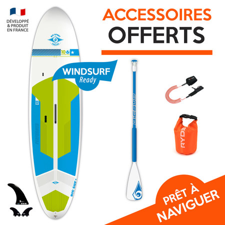 SUP BIC ACE TEC PERFORMER WIND 10.6 2018 10.6