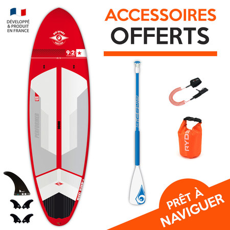 SUP BIC ACE TEC PERFORMER 9.2 2017 RED 09.2