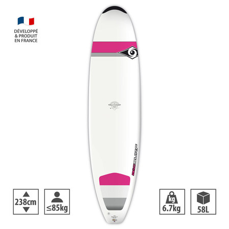SURF BIC DURA TEC NATURAL 2 WAHINE GIRL 7.9 7.9