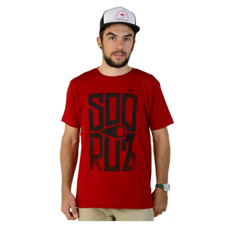 T-SHIRT SOORUZ BLOCK ROUGE XL