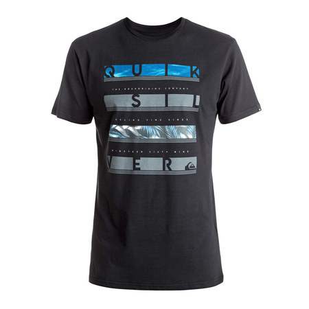 T-SHIRT QUIKSILVER CLASSIC READ BETWEEN NOIR XL