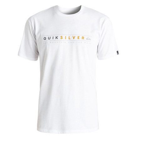 T-SHIRT QUIKSILVER CLASSIC ALWAYS CLEAN BLANC M