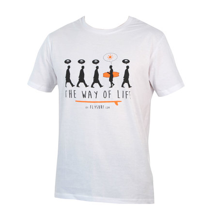 T-SHIRT THE WAY OF LIFE BLANC