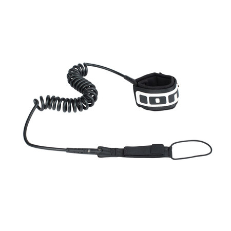LEASH DE SUP ION CORE LEASH COILED NOIR