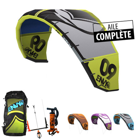 AILE DE KITESURF LIQUID FORCE ENVY 2014 COMPLETE 07.0M