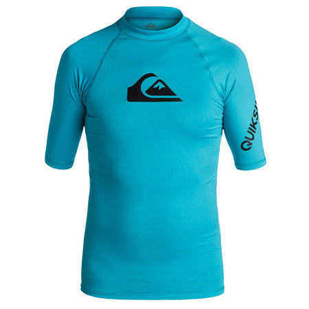 LYCRA QUIKSILVER ALL TIME BOYS SS BLEU