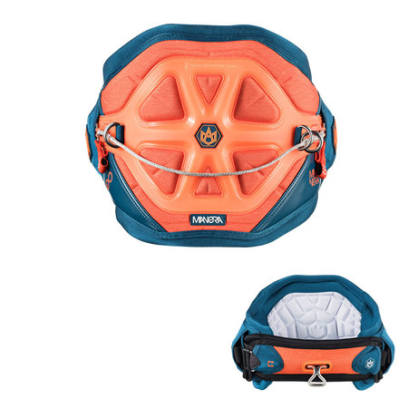 HARNAIS KITESURF MANERA EXO 2016 ORANGE/BLEU XL