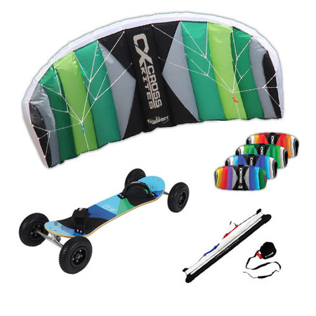 PACK CROSS KITES BOARDER + MOUNTAINBOARD KHEO CORE