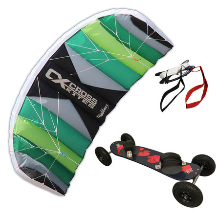 PACK CROSS KITES AIR + MOUNTAINBOARD SIDE ON EASY RIDE