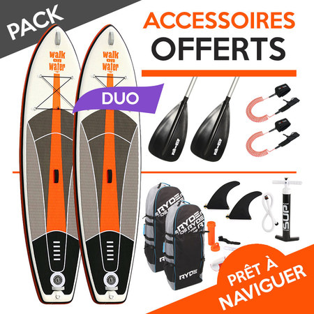 PACK SUP WOW 2 PERSONNES 10.6