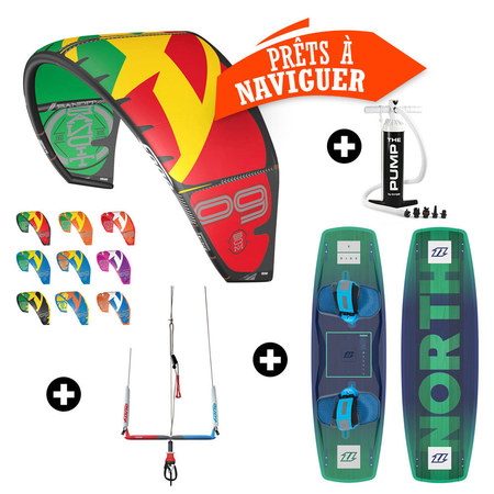 PACK KITESURF F-ONE BANDIT + NORTH X RIDE 2017