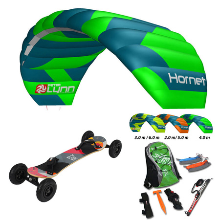 PACK PETER LYNN HORNET BARRE + MOUNTAINBOARD KHEO FLYER